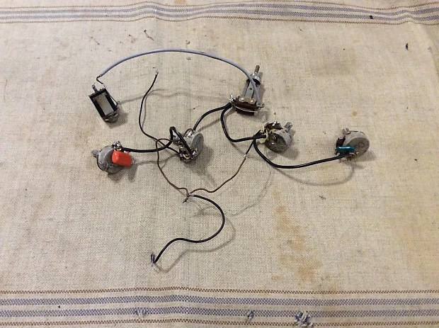 Vintage 1960\u0027s Gibson ES-330 or ES-335 Wiring Harness Reverb