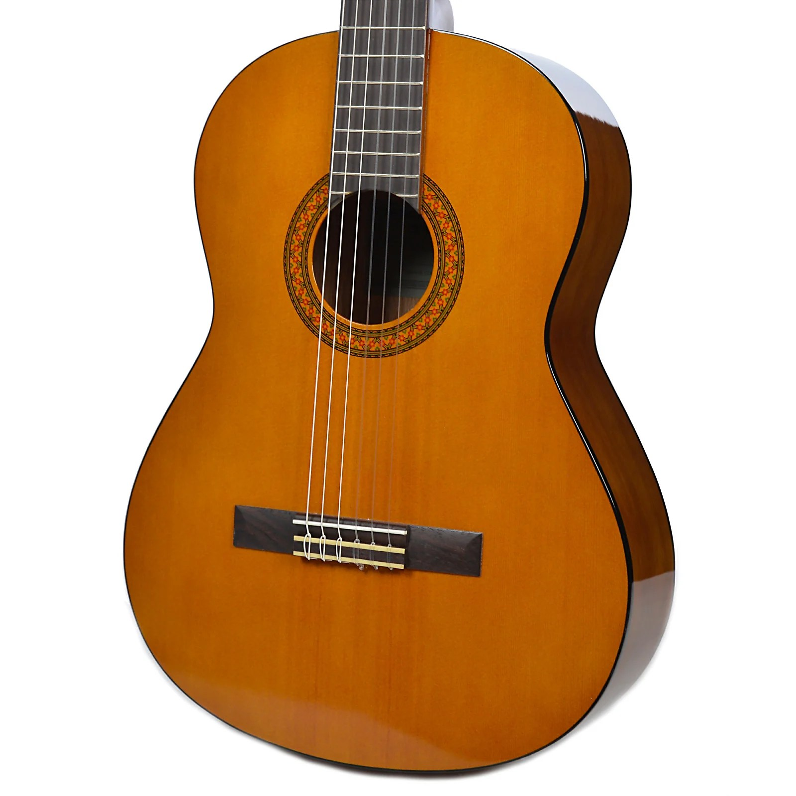 Acoustic Yamaha Yamaha Full Size Student Nylon Acoustic Guitar Natural