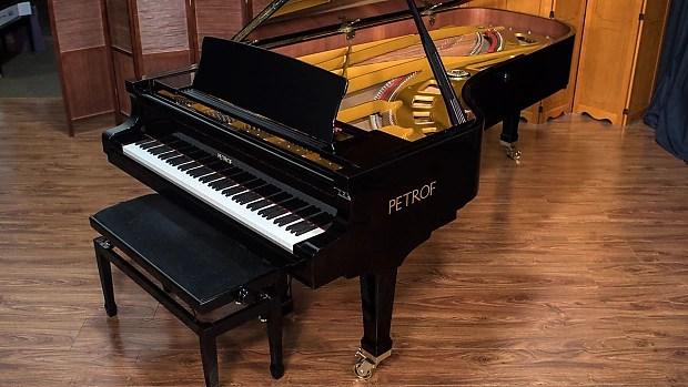 Petrof Concert Grand Piano Reverb