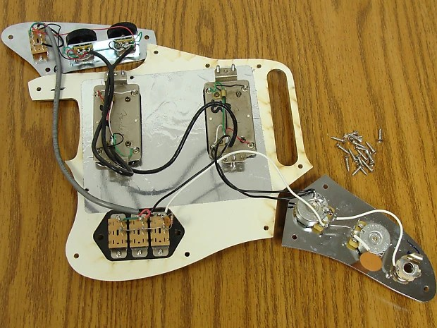 Fender Classic Player Jaguar HH loaded pickguard Tortoise Reverb