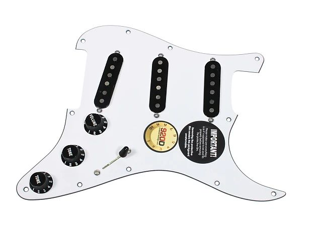 wiring pickups and knobs