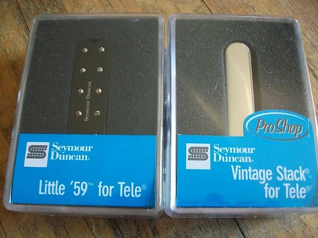 Seymour Duncan ST59-1b Little 59 For tele and stk-t1n vintage Reverb