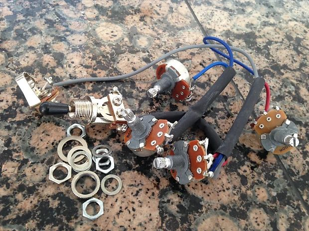 wiring harness for epiphone dot 335