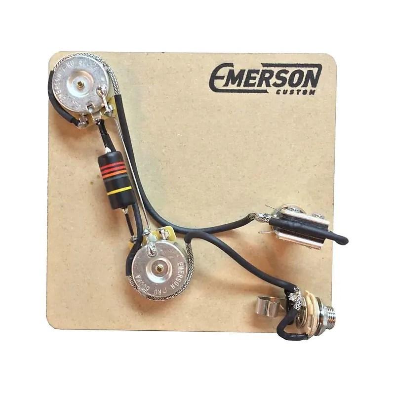 Emerson Custom 2 Knob Prewired Kit for PRS Guitars Reverb