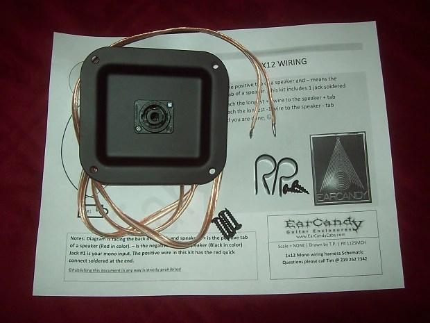 EarCandy 1x8 10 12 15 18 Bass guitar speaker cab Lichtenstein Reverb