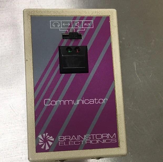 Brainstorm Electronics TBT-4 Tan and Purple Reverb