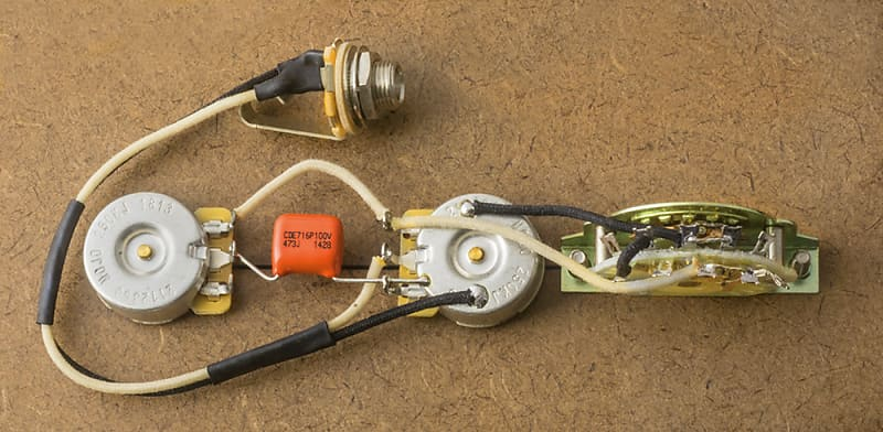 Telecaster 4 Way Wiring Harness Upgrade for Tele-CTS-Orange Reverb