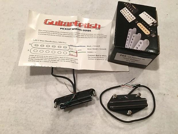 GFS Lil Puncher XL Telecaster Hot Rail Pickups - Cool Vintage Reverb