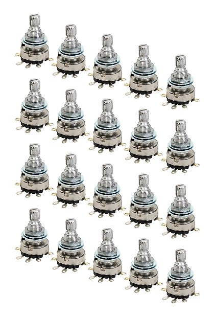 20 Pack NS Designs JackPot™ Rotary Potentiometer True Bypass Reverb