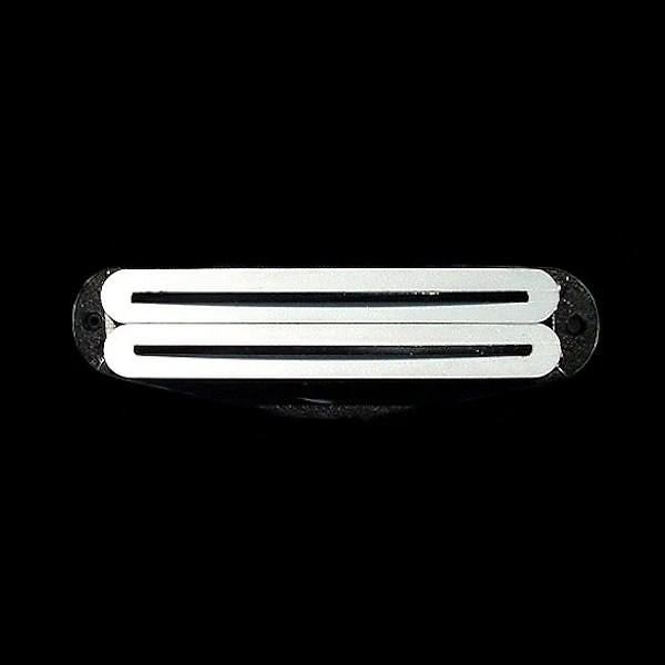 GuitarHeads MINI RAIL HUMBUCKER Pickup - WHITE  BLACK - Reverb
