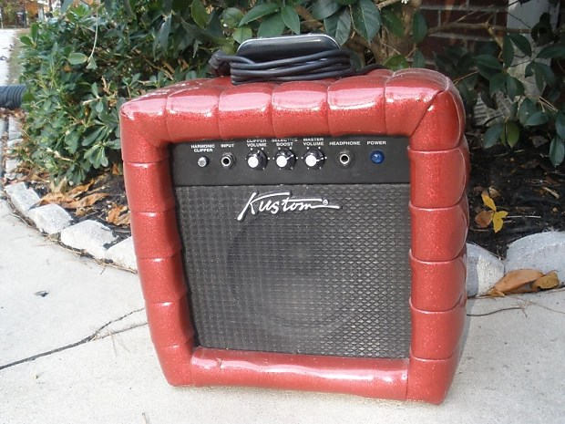 Kustom TR12L Guitar Amplifier - Red Tuck and Roll - 70\u0027s Reverb