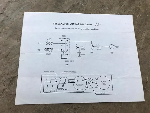 Tremendous Factory Telecaster Wirings Pt 2 Premier Guitar1997 Ford Wiring Wiring 101 Photwellnesstrialsorg