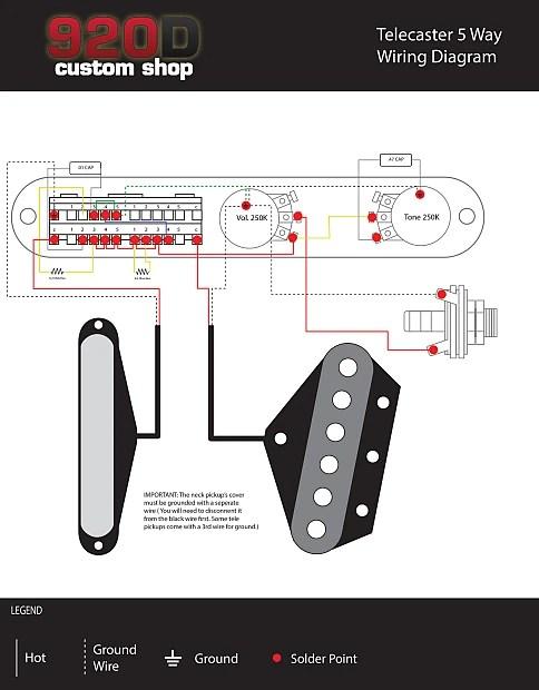 Fender Telecaster Loaded Pickguard Duncan Little 59/Vintage Reverb