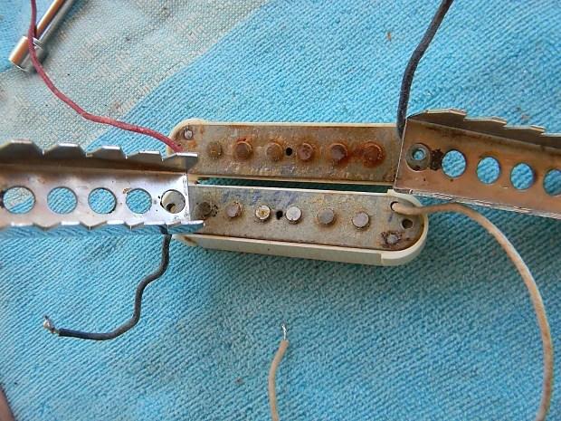 1967 Fender Jaguar Pickups Grey Bottom Vintage Fender Jaguar Reverb