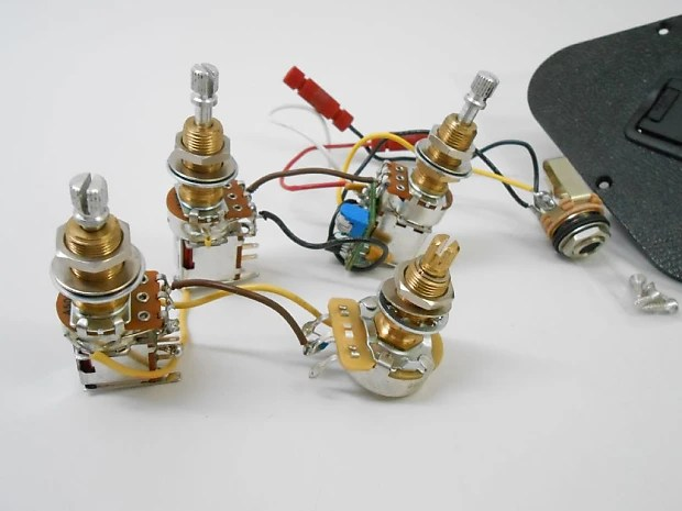 Gibson USA Les Paul Traditional Pro II Wiring 2V 2T Push/Push Reverb
