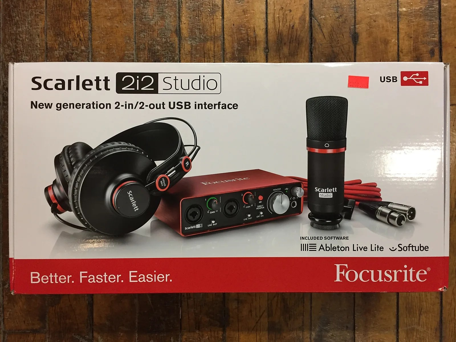 Scarlett 2i2 Focusrite Scarlett 2i2 Studio Usb Interface 2017