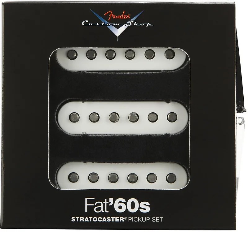 Fender® Custom Shop Fat `60s Stratocaster Pickup Reverb