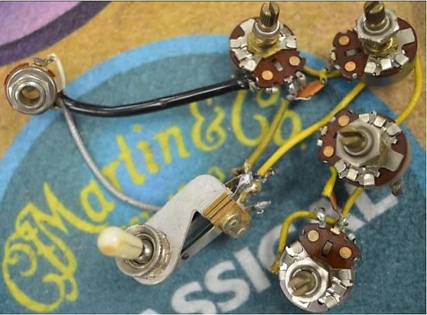 Vintage Original 64\u0027 Gibson SG Wiring Harness