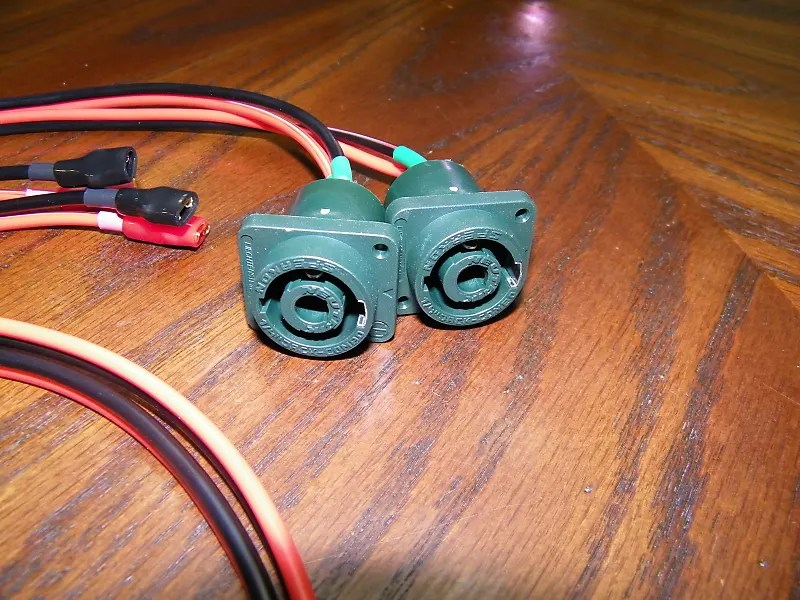 EarCandy stereo 4x10 Bass guitar cab Wiring Harness No Reverb