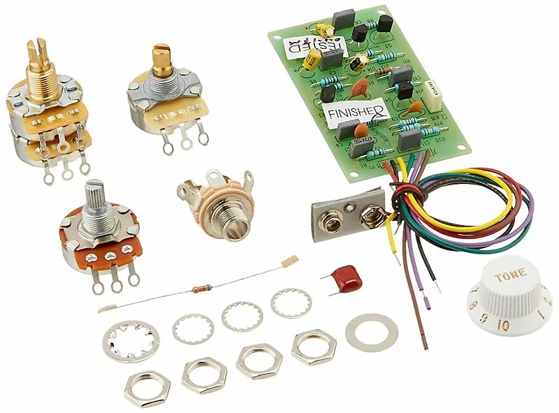 Mid Boost Preamp Kit 25db Active Unit Upgrade Eric Clapton Reverb