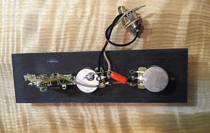 Tele Wiring Harness - Standard - Vintage Cloth Wire - 022 Reverb