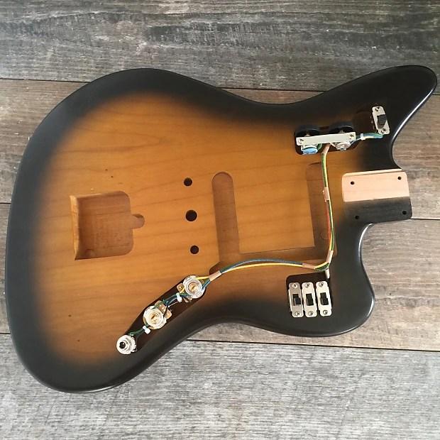 Fender Jaguar AVRI 62 Vintage Wiring Harness with Vintage Reverb