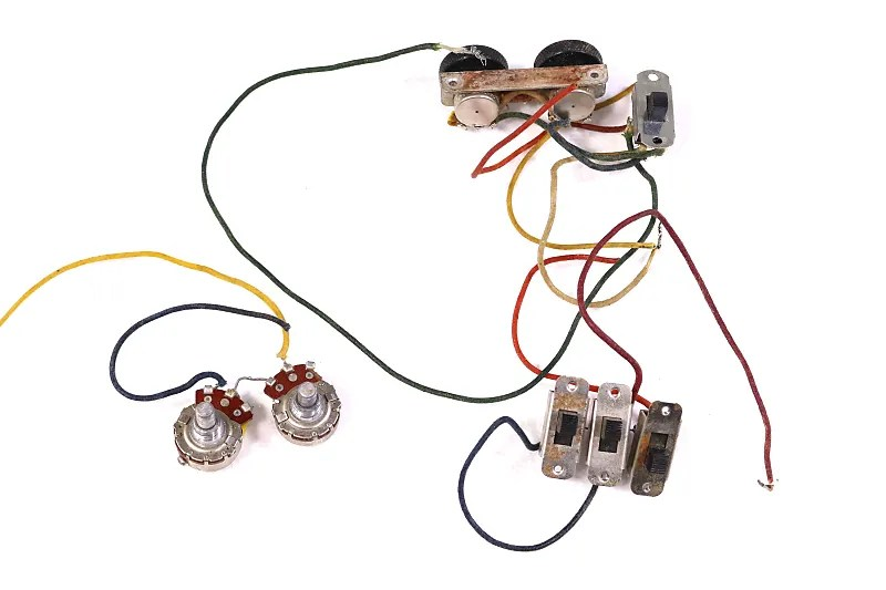 1963 fender jaguar wiring harness reverb