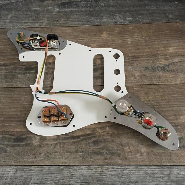 Pro Wired Vintage Spec Fender Jaguar 62 Wiring Harness Reverb