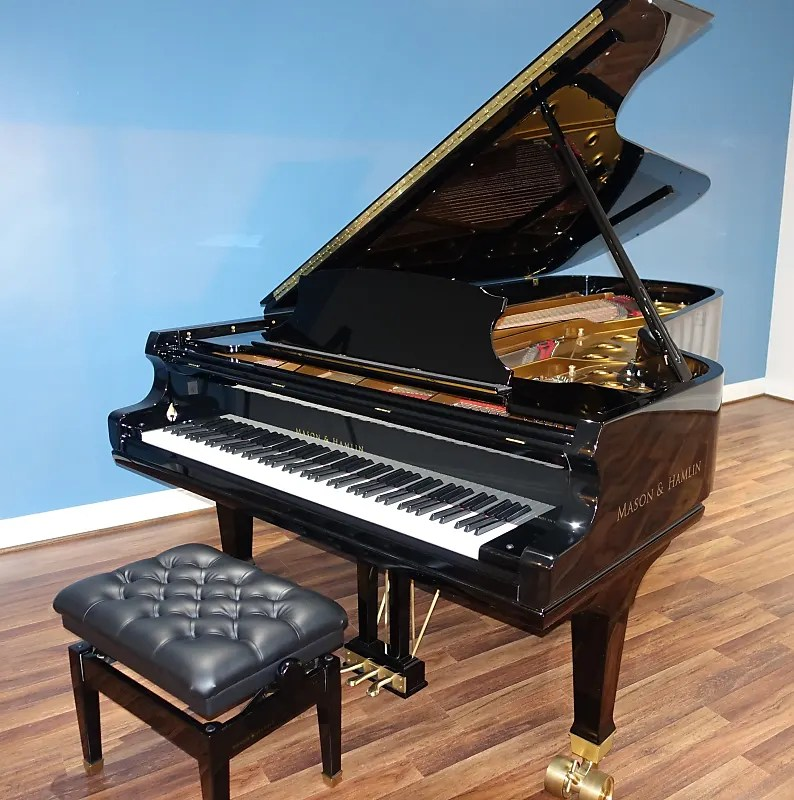 New Mason  Hamlin CC-94 Concert Grand Piano Reverb