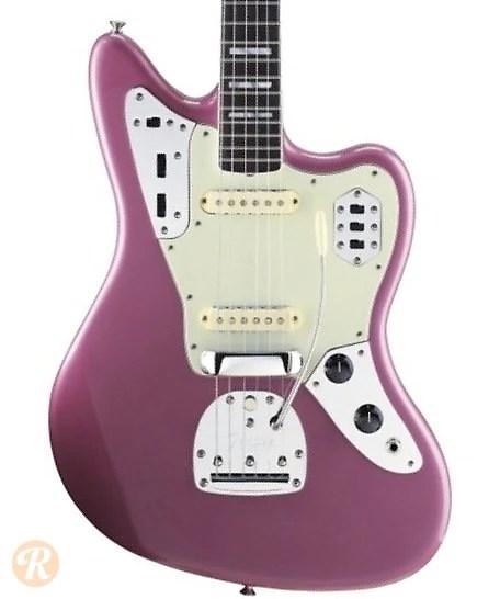 Fender 50th Anniversary Jaguar 2012 Burgundy Mist Metallic Reverb