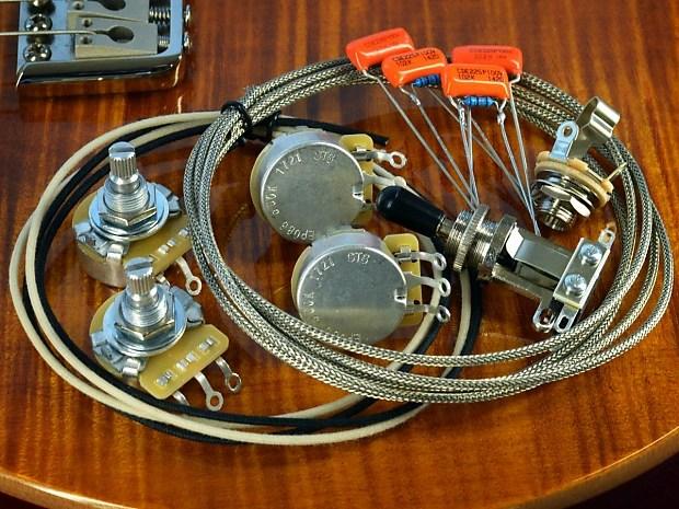 PRS SE 245 Deluxe Wiring Kit CTS, Orange Drop, Switchcraft, Reverb