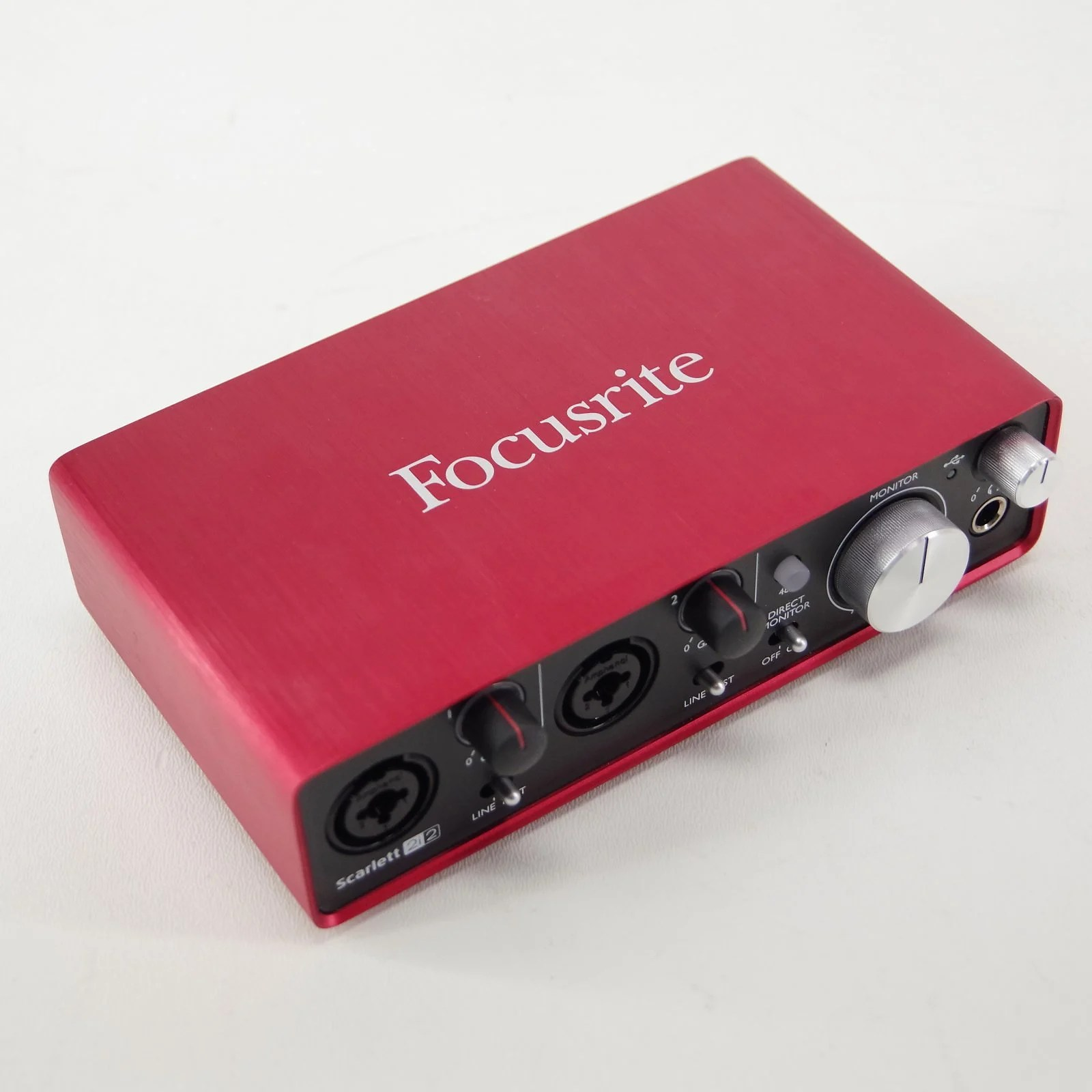 Scarlett 2i2 Focusrite Scarlett 2i2 Interface Used