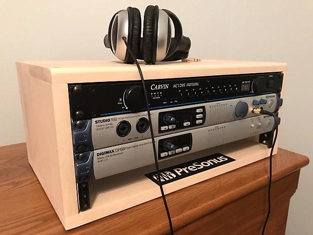 Homemade Audio Rack 2017 Aspen Unfinished Reverb