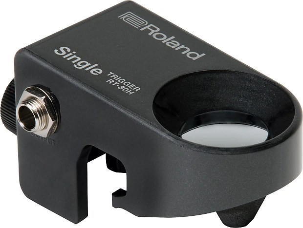Roland Rt 30h Acoustic Drum Trigger Single For Toms Or