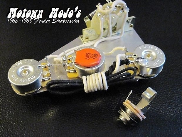Motown Mojo 1962-1968 reproduction Fender Strat Wiring Reverb