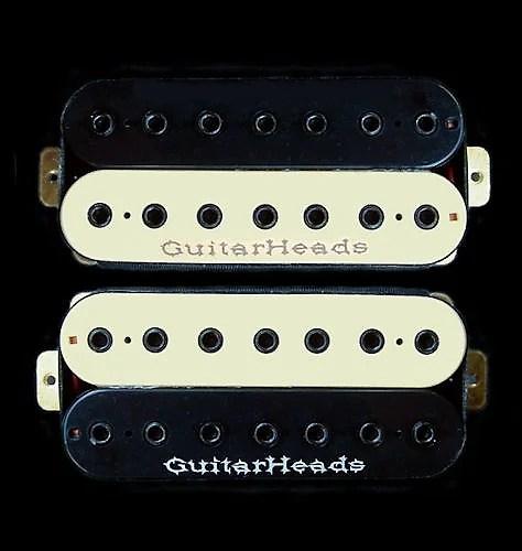 GuitarHeads HEXBUCKER Humbucker Pickups - 7-STRING - Reverb