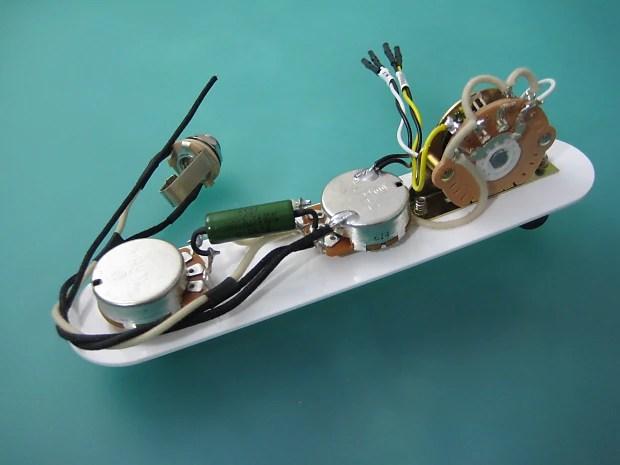 Telecaster \u002752 Hot Rod Wiring Harness 375K Pots Reverb
