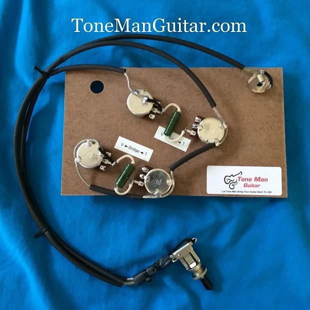 Gibson ES175 Vintage 50\u0027s Prebuilt Upgrade Wiring Harness Reverb
