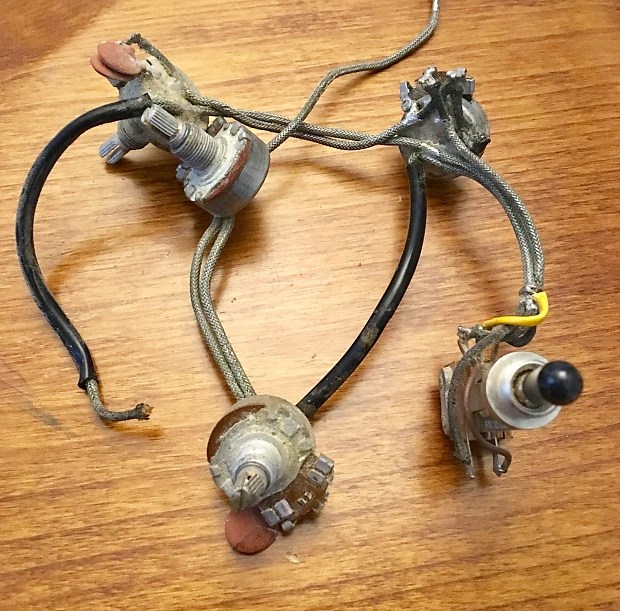 Gibson Es-335 wiring harness 1967 es330 original vintage usa Reverb