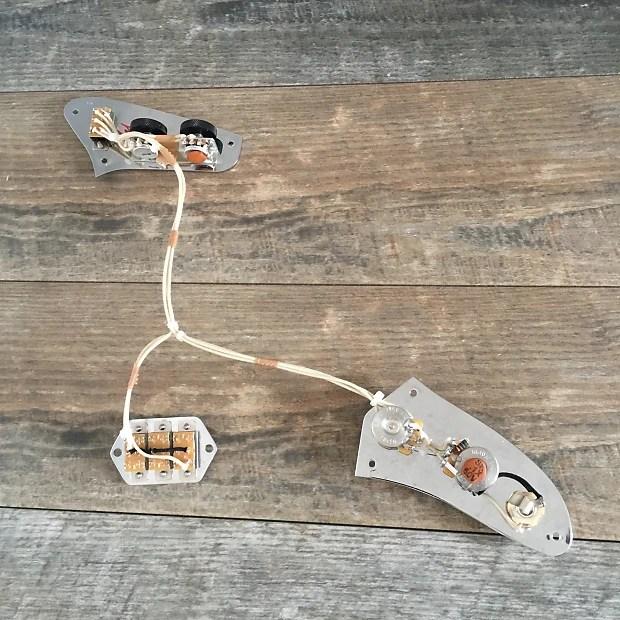 Vintage Spec Fender Jaguar 1962 style Wiring Harness Reverb