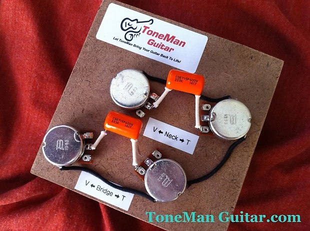 50s Wiring Diagram Sg Les Paul 50 S Wiring Harness 022uf 015uf Orange Reverb