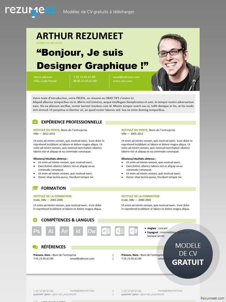visualiser un cv gratuit