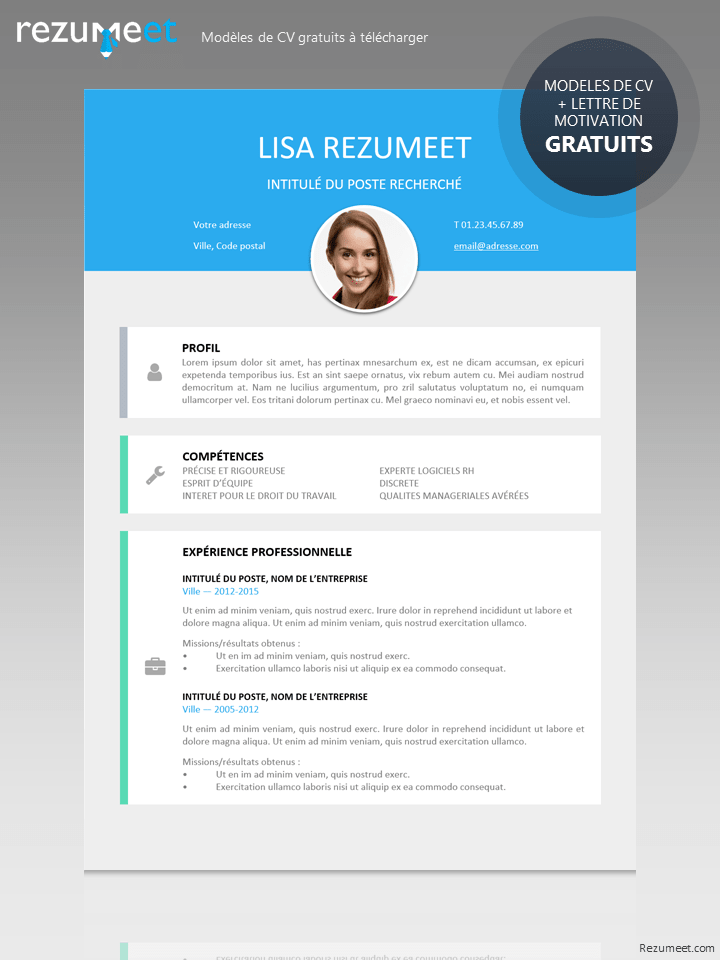 cv simple et moderne