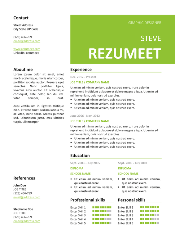 resume and cover letter canada