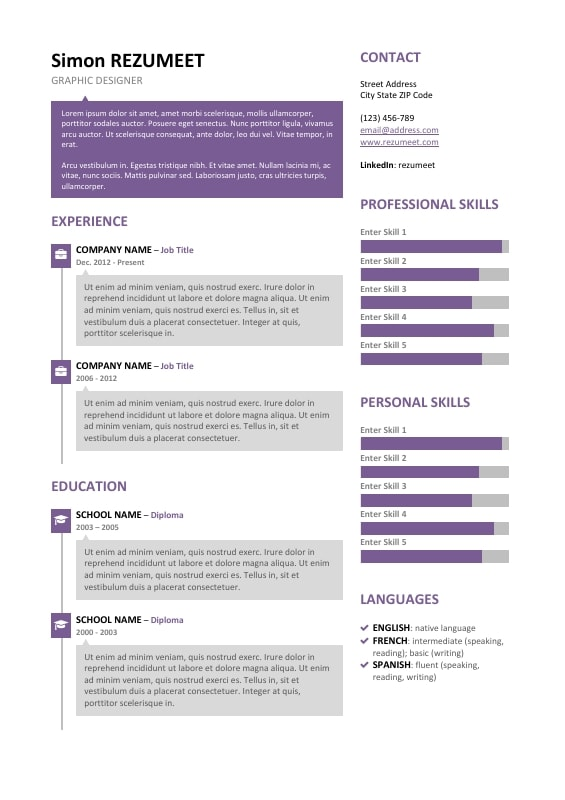 free resume templates job social work format service worker for - spanish resume template