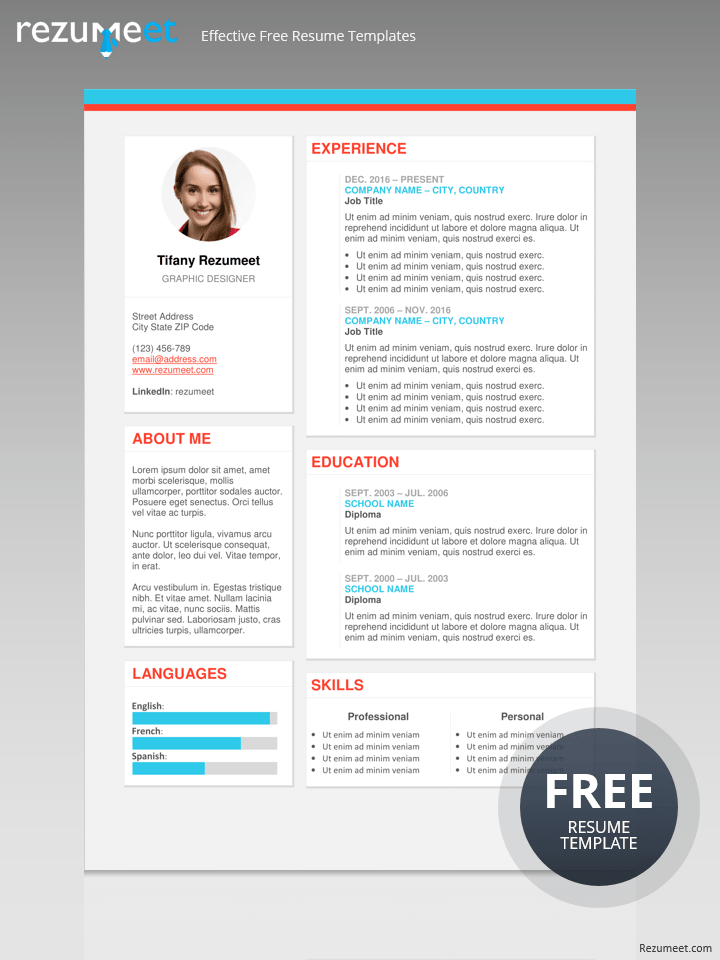 What File Types Can Be Uploaded For A Resume On The Plateau Modern Resume Template