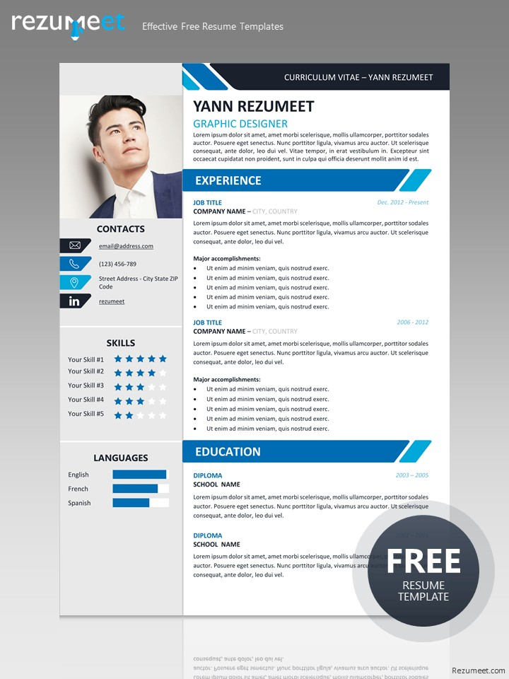 Yanaka - Professional Resume Template - resume template for it professional