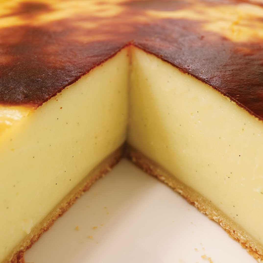 Background Masak Parisian Flan French Custard Pie