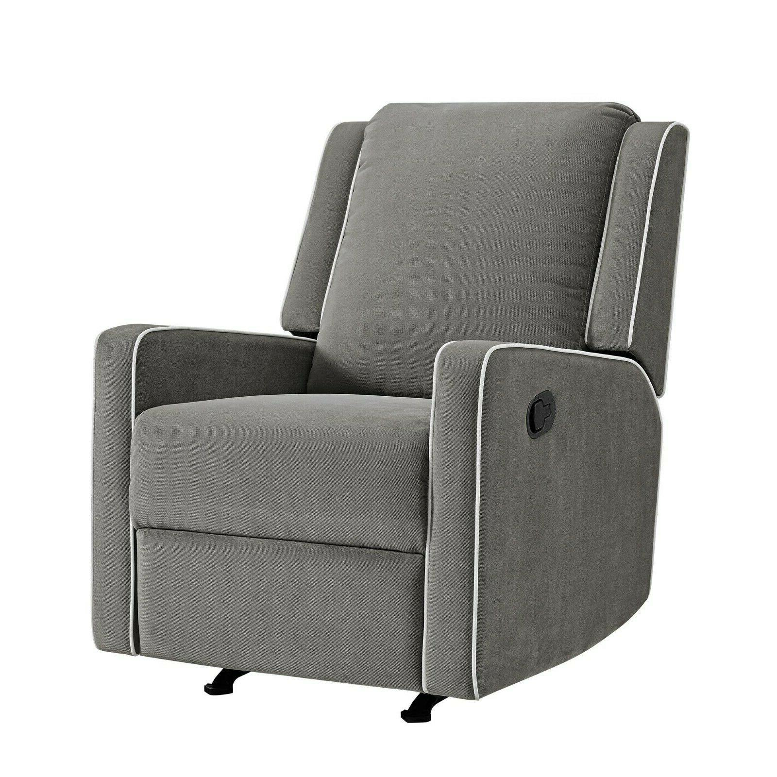 Grey Nursing Chair Baby Relax Robyn Contemporary Smooth Ro