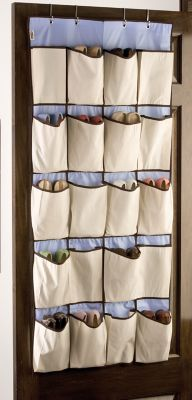 pocket closet shoe organizer